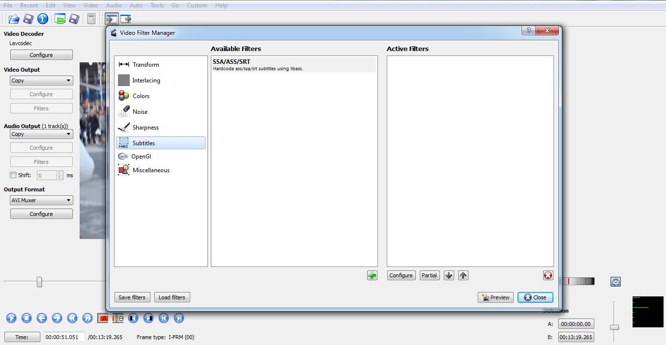 avidemux-subtitle-menu