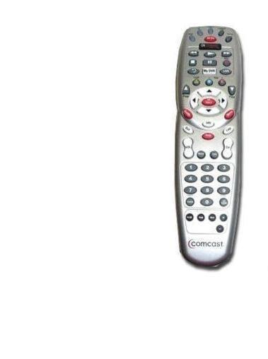 comcast remotes