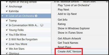 create aac