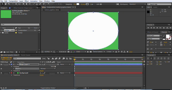 How to Create Motion Graphics in After Effects