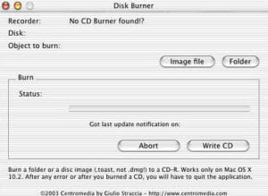 free dvd burnning tool for Mac