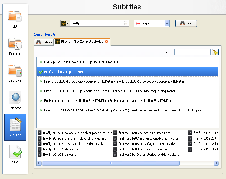 Download Subtitles for DVD Movies and TV Shows