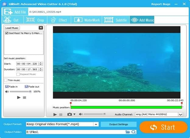GilliSoft Video Editor