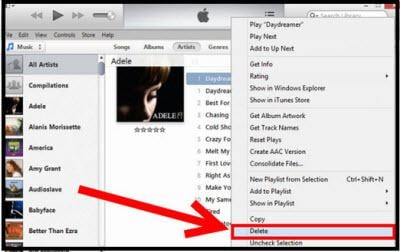 how to change itune music to tones