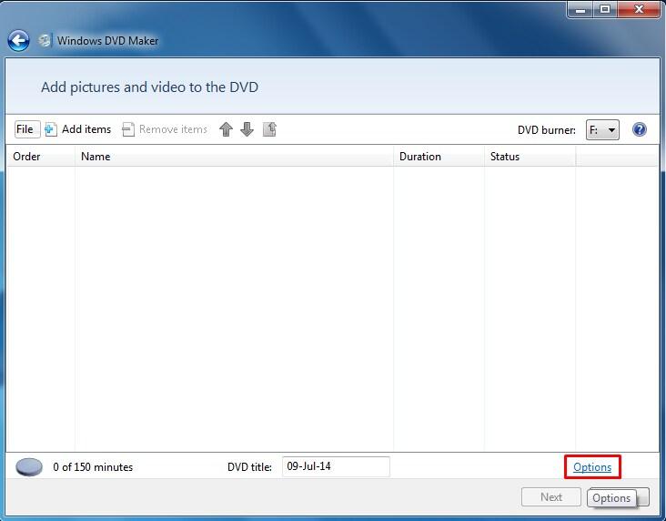 110de4d0fa Tipy pre riešenie problémov pre bežné Windows DVD Maker otázky