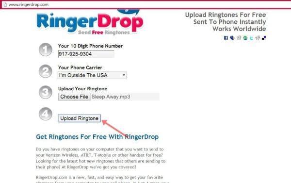 send ringtones to phones8