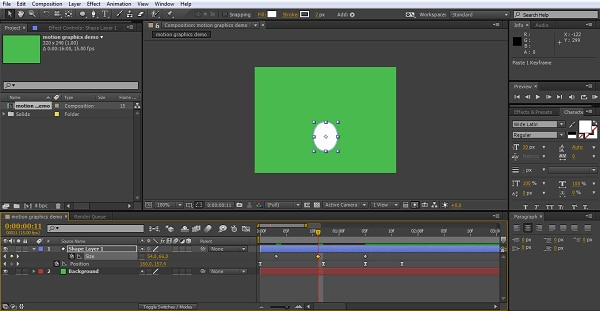 how to create motion graphics