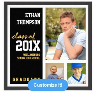 30 websites to create customized graduation invitations zazzle filmwisefo Images