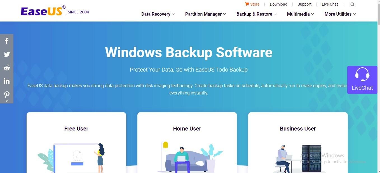 windows file backup software