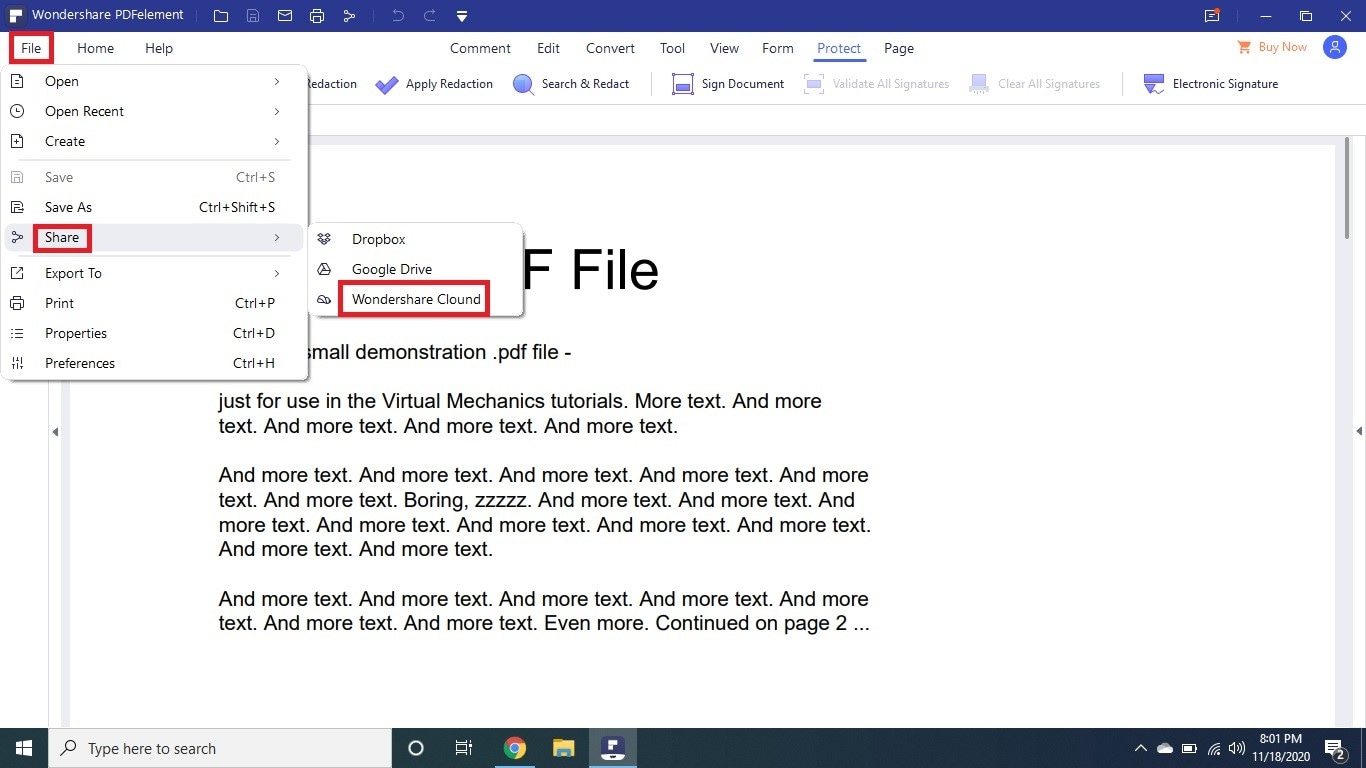 open pdf from document cloud