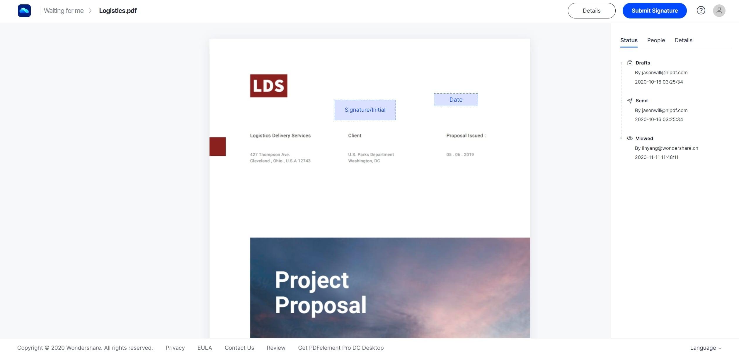 pdf signature tool