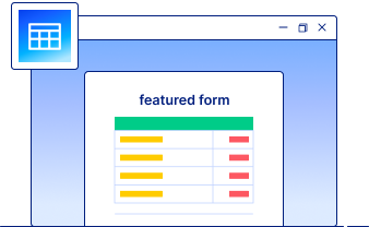 form features