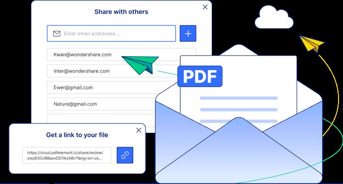 send pdf files to anyone