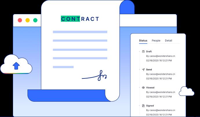 track documents status