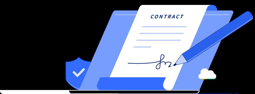 PDF署名の様子
