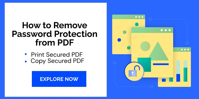 how to remove password protection from pdf