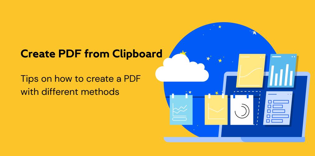 ¿cómo crear un archivo PDF?