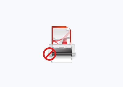 não consigo imprimir o pdf