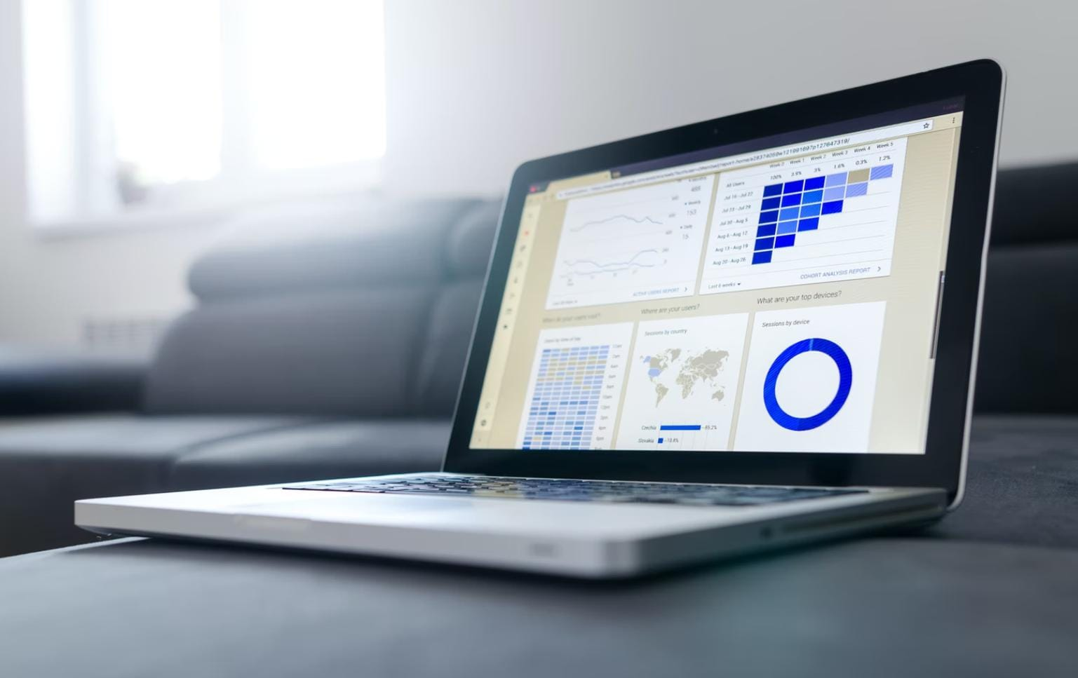 monitor search volume data