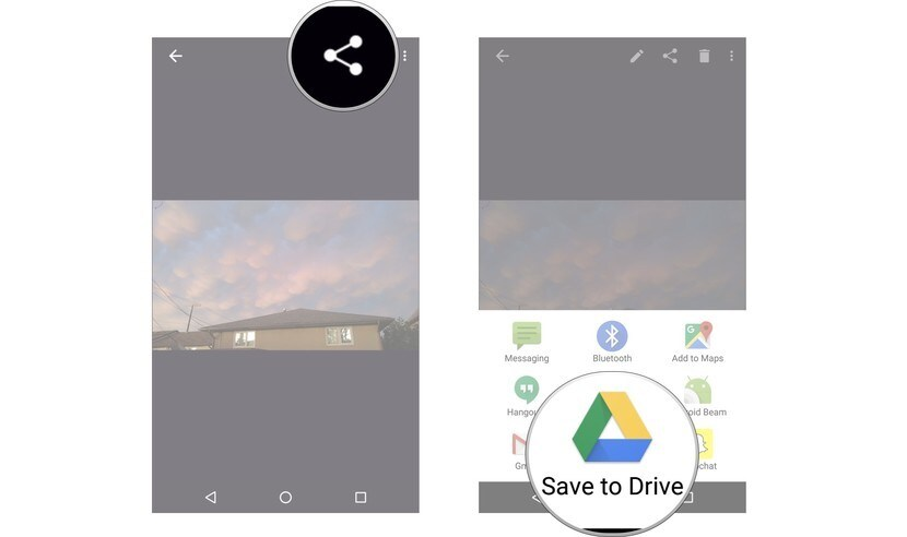 how do i save documents directly to google drive