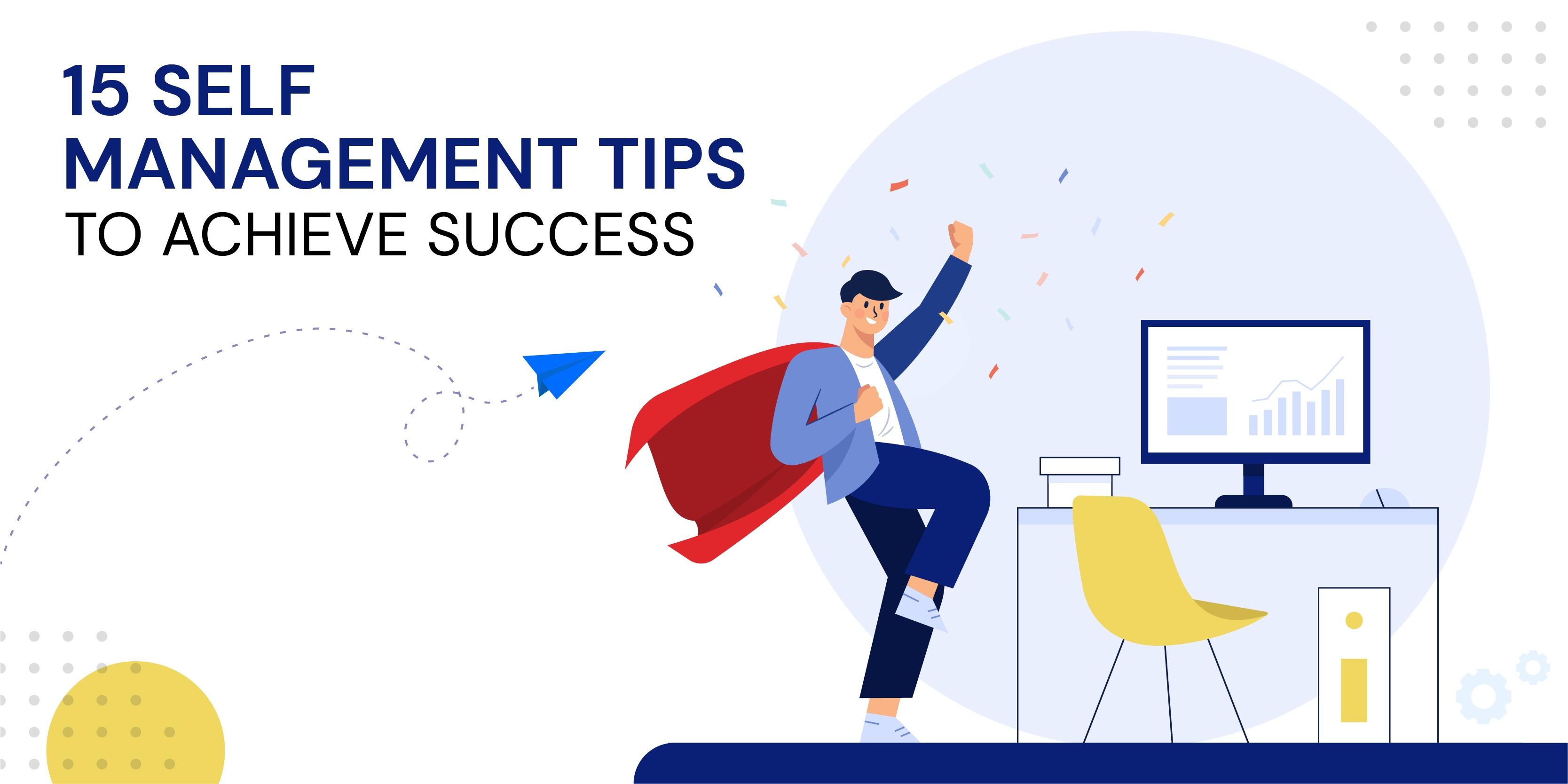 self-management tips
