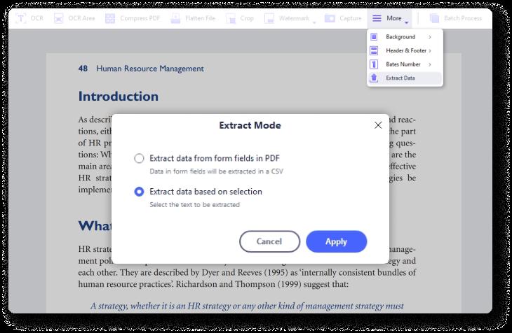 Daten aus PDF-Formularen extrahieren
