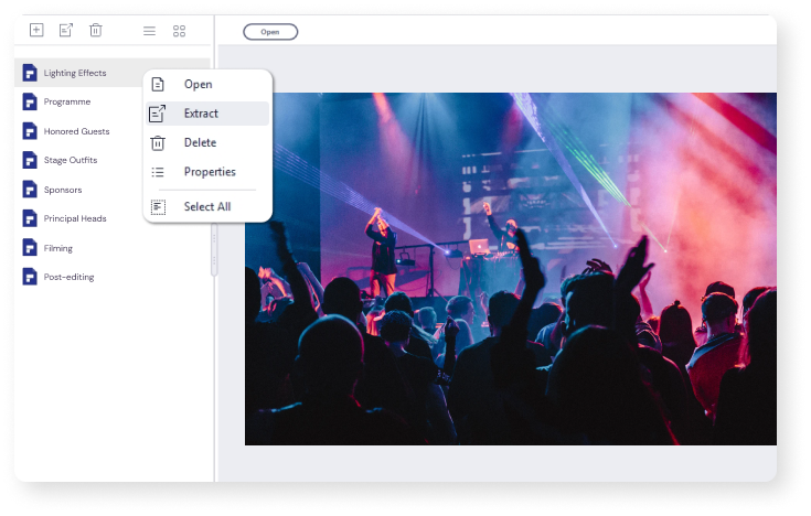 Dateien aus PDF-Portfolios extrahieren