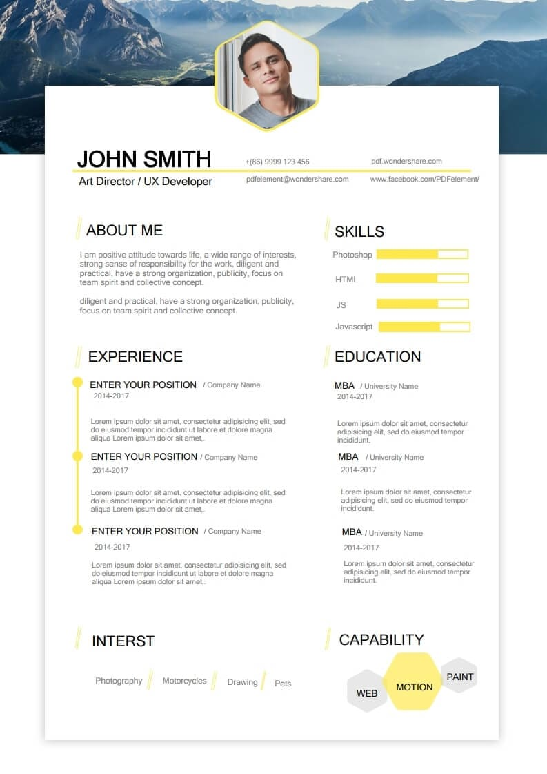 acting resume template  free download  edit  create  fill