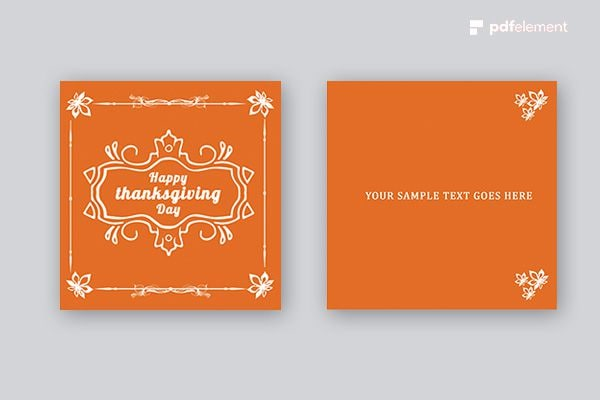 thanksgiving sms