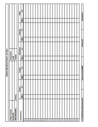 attendance-sheet-template