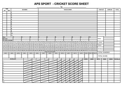 cricket score sheet 3