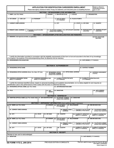 dd form 1172