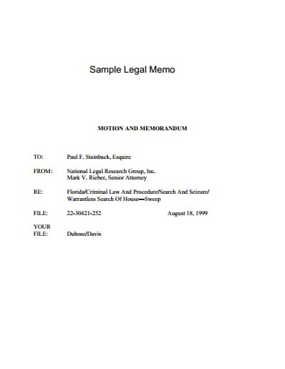 legal-memo-template