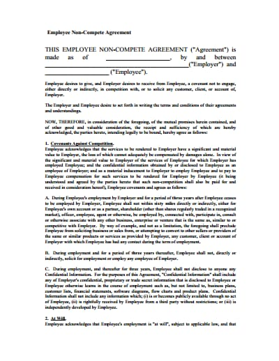 non-compete-agreement-template