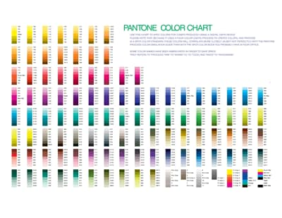 Pantone Color Chart Free Download Create Edit Fill And Print Wondershare Pdfelement