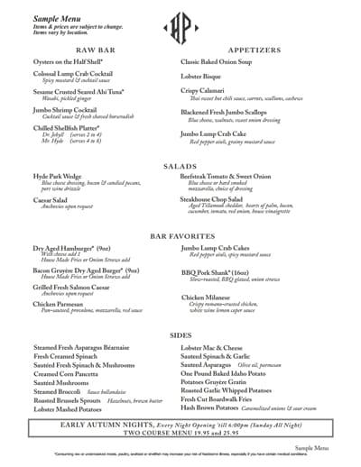 restaurant menu template 3