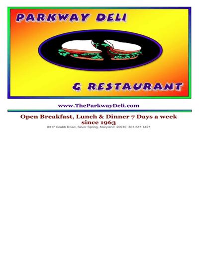 restaurant menu template 4