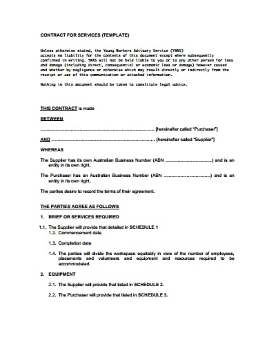 service-contract-template