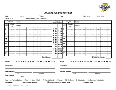 volleyball score sheet 2