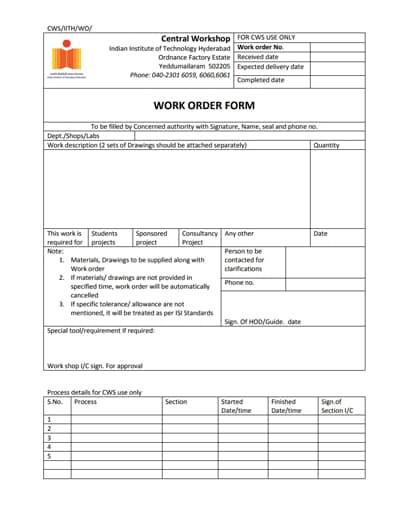 work order template 1