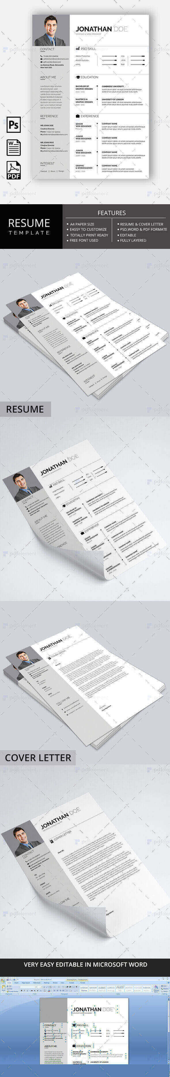 Resume Template - Business Basic Lite