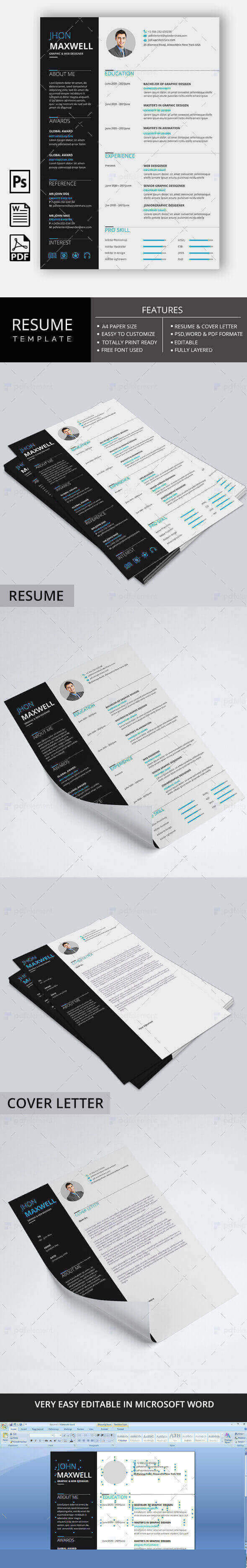 Resume Template - Business Basic Pro