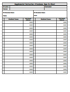 Attendance Sheet Template: Free Download, Create, Edit, Fill and Print