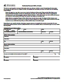 Boat Bill of Sale Form: Download, Create, Edit, Fill and Print