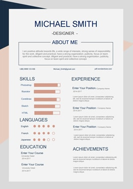 Resume Template - Business Set Lite