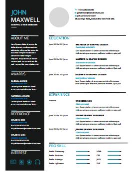 Resume Template - Business Basic Pro
