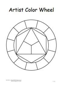 Color Wheel Chart: Free Download, Create, Edit, Fill and Print
