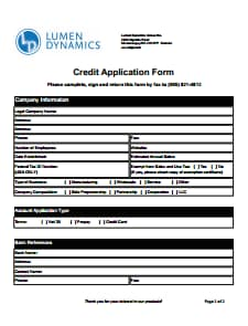 Credit Application Form: Download, Create, Edit, Fill and Print