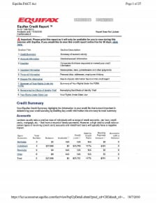 Credit Report Template: Download, Create, Edit, Fill and Print