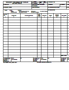 DA Form 3161: Free Download, Create, Edit, Fill and Print